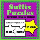 Suffix Puzzles ( -ness )