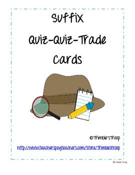 Suffix Quiz-Quiz-Trade