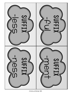 Suffix Savvy: -less, -ful, -ment, -ness Part 1