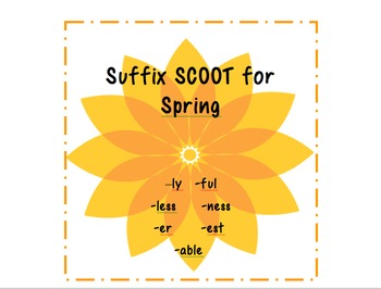 Suffix Scoot for Spring