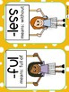 Suffix Set - Posters, Graphic Organizer, Practice Sheets, Matching Game