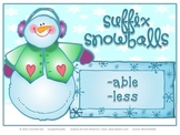 Suffix Snowballs: Words and Meanings