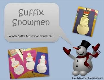 Suffix Snowmen