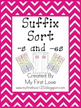 Suffix Sort -s and -es