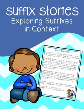Suffix Stories Pack: Exploring Suffixes in Context