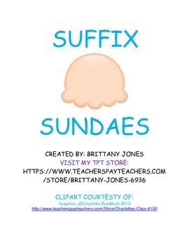 Suffix Sundaes