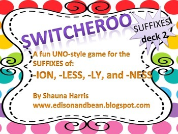 Suffix Switcheroo Deck 2