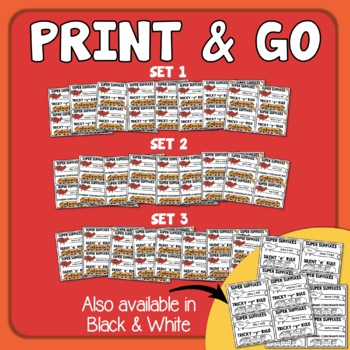 Suffixes Task Card Bundle: 96 Cards for Changing the Base Word