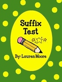 Suffix Test