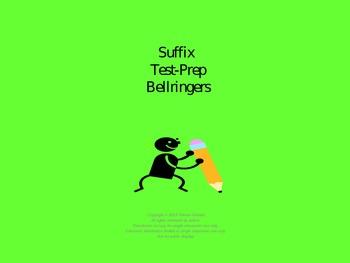 Suffix Test-Prep Bellringers Power Point