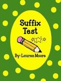Suffix Test
