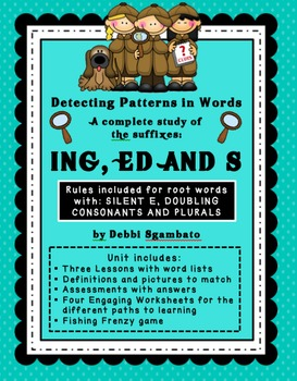 Suffix Unit ING, ED and S
