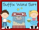 Suffix Word Sort