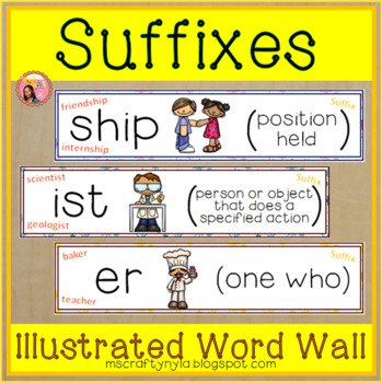 Suffix Word Wall