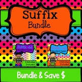 Suffix Word Work Bundle (Includes: ing and ed)