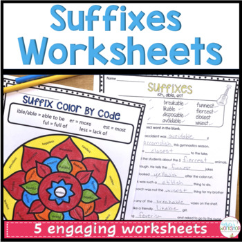 Suffix Worksheets