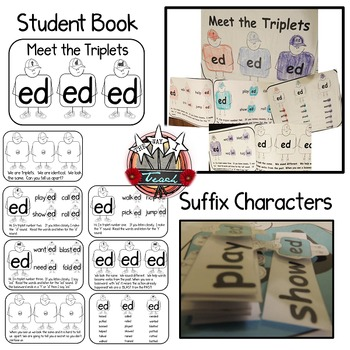 Suffix  _ed {Meet the Triplets}