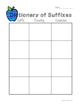 Suffix activities (-ful, -ness, -less)