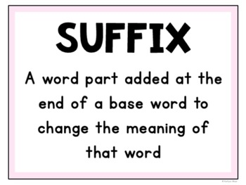 Suffix and Prefix Task Cards Review Reading Comprehension