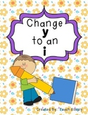 Suffix: Change Y to an I