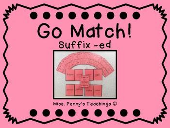 Suffix -ed Go Match!