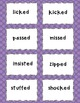 Suffix -ed Word Sort and Fill in the Blank Stories