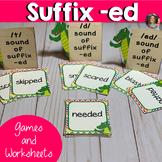 Suffix -ed Word Work