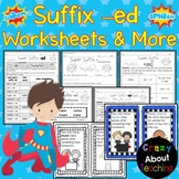 Suffix -ed Worksheets & More