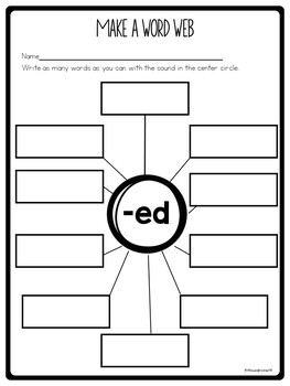 Suffix ed worksheets
