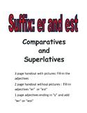 "Suffix ""er"" and ""est"": Printables"