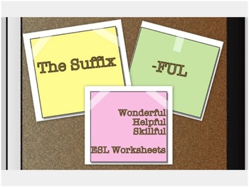 Suffix-ful ESL Style
