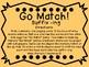 Suffix -ing Go Match!