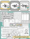 Suffix -le and Inflectional Endings