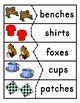 Suffix s and es Activities and Printables