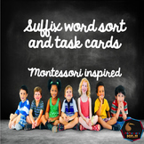 Suffixes word sort