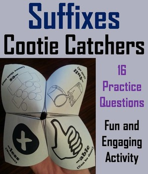 Suffixes Activity 2nd 3rd 4th Grade Affixes