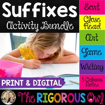 Suffixes Activity Bundle