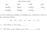 Suffixes: 4 Worksheets for Grammar, Structural Analysis + Using Sentence Context