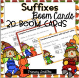 Suffixes Boom Task Cards