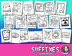 Suffixes Coloring Activities for Greek and Latin