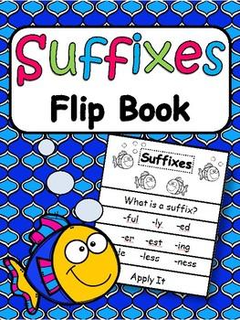 Suffixes Flip Book