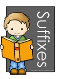 Suffixes Interactive Notebook Pages