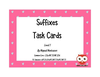 Suffixes Level 1