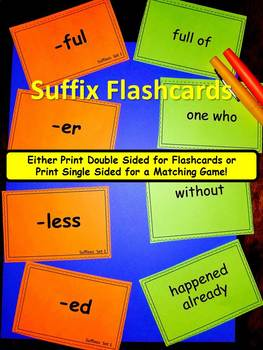 Suffixes Pack!