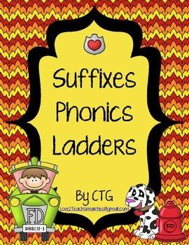 Suffixes Phonics Ladders
