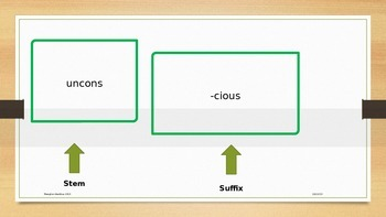 Suffixes Spelling -cious, tious, xious- (3 patterns with the same sound!)