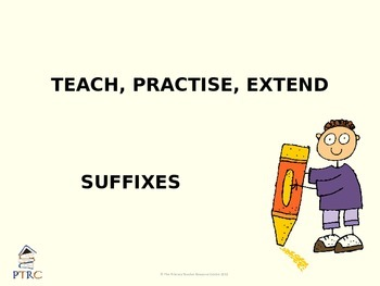 Suffixes Teaching PowerPoint