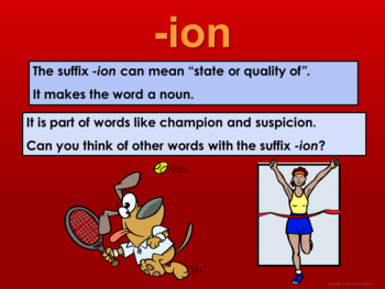 Suffixes - Vocabulary Boosters 2