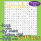 Suffixes - Word Search - Solve the clues to find 36 suffixes