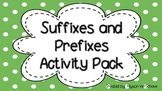 Suffixes and Prefixes Packet
